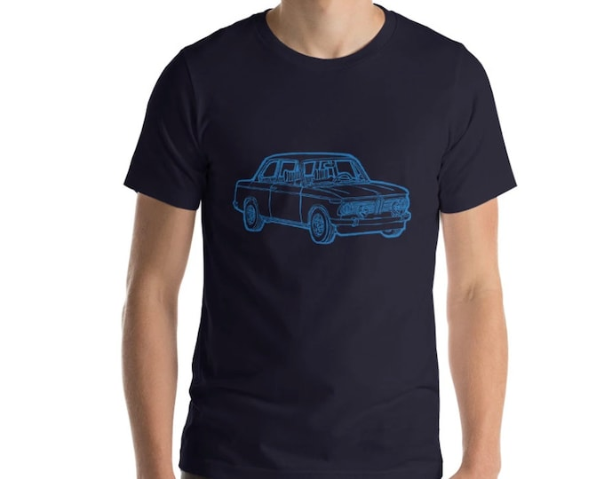 KillerBeeMoto: Limited Release Vintage German Sports Car 2002 New Class Illustration Short & Long Sleeve Shirts