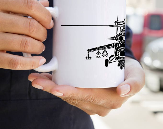 KillerBeeMoto:    Coffee Mug Limited Release Hind Mil Mi-24 Russian/Soviet Attack Helicopter