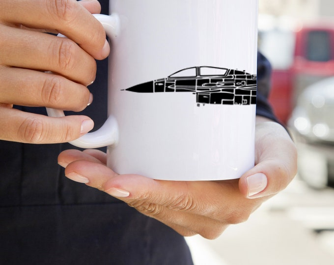 KillerBeeMoto:    F16 Fighting Falcon Aircraft Coffee Mug