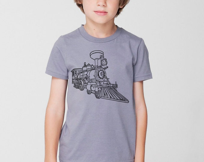 KillerBeeMoto: Train Locomotive CPR Steam Engine No 374 Short & Long Sleeve Shirt