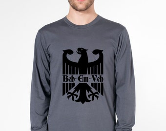 KillerBeeMoto: Beh-Em-Veh Modern German Eagle Short & Long Sleeve Motorcycle Shirts