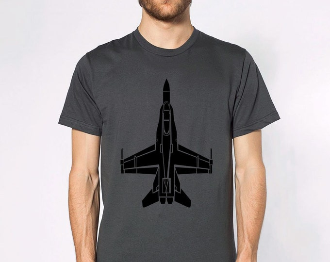 KillerBeeMoto: F/A-18 Hornet Short Or Long Sleeve T-Shirt