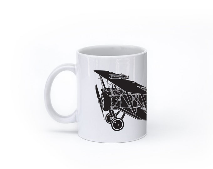 KillerBeeMoto:    Sopwith Camel Bi-Plane 2F1 Navy Variant Coffee Mug