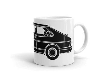 KillerBeeMoto: Limited Release Vintage Scandinavian 900S Illustration On A Coffee Mug