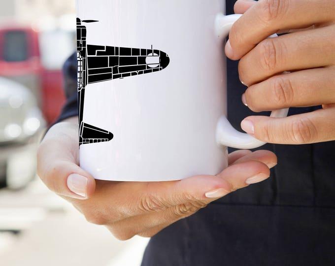 KillerBeeMoto:   Coffee Mug A6M Zero Fighter Aircraft