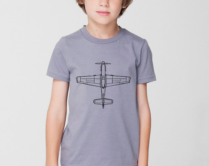 KillerBeeMoto:  P-51 Mustang Fighter Plane Top View Short And Long Sleeve Shirts