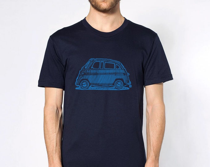 KillerBeeMoto: Limited Release Vintage Micro-Car On Short Or Long Sleeve T-Shirt