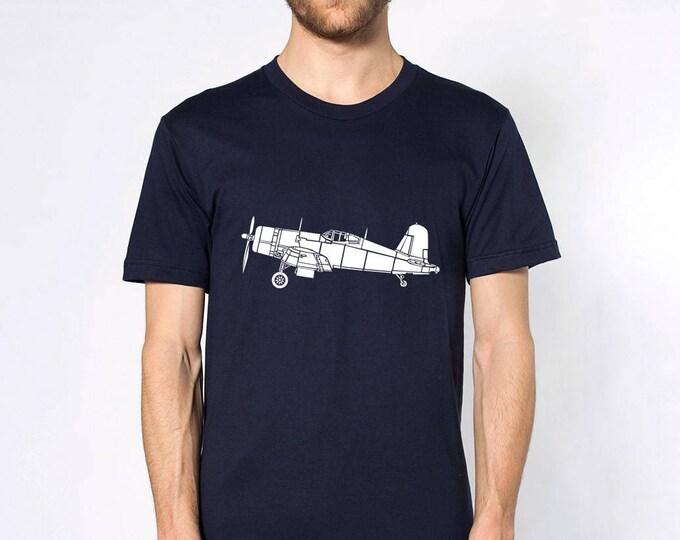 KillerBeeMoto: F4U Corsair Fighter Plane Short Or Long Sleeve Shirt