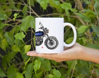 KillerBeeMoto:   Coffee Mug  Limited Release Japanese Engineered 750cc  Motorcycle Mug (White)