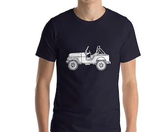KillerBeeMoto: Limited Release Vintage American SUV Illustration Short & Long Sleeve Shirts