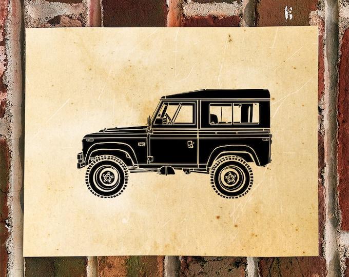 KillerBeeMoto: Limited Print Vintage 1970's All Terrain Vehicle Print 1 of 50