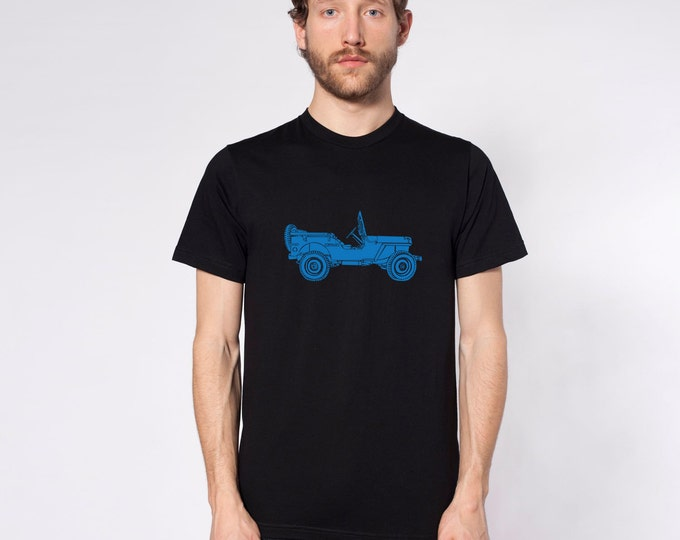KillerBeeMoto: Limited Release Vintage World War Two Vehicle On A Short Or Long Sleeve T-Shirt