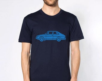 KillerBeeMoto: Limited Release Vintage Scandinavian Car Short or Long Sleeve T-Shirt