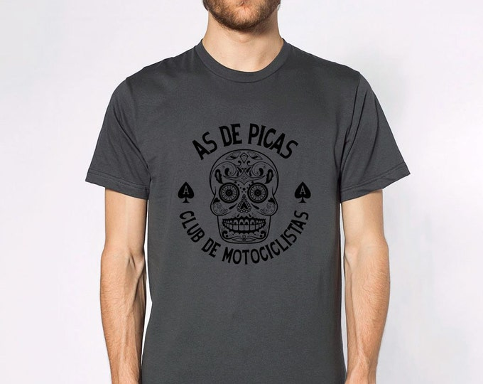 KillerBeeMoto: Sugar Skull Motorcycle Short & Long Sleeve Shirts