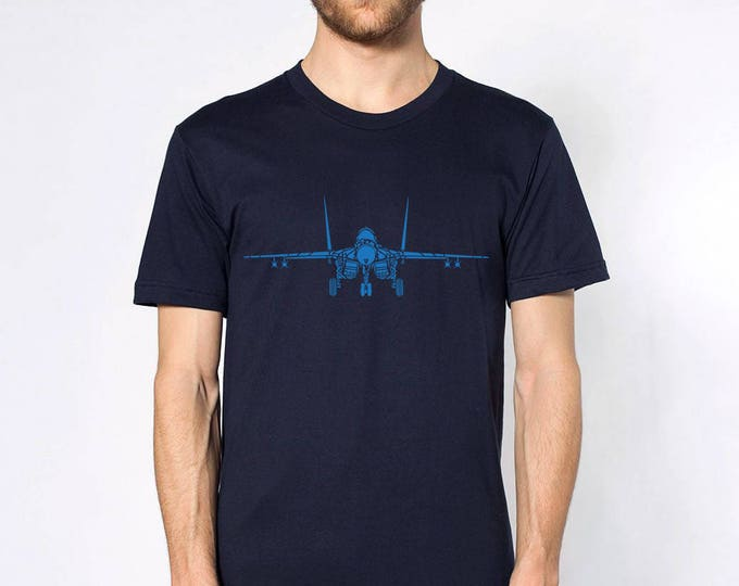 KillerBeeMoto: Limited Release Piper MIG-29 Mikoyan-Gurevich Fighter Jet Short Or Long Sleeve T-Shirt