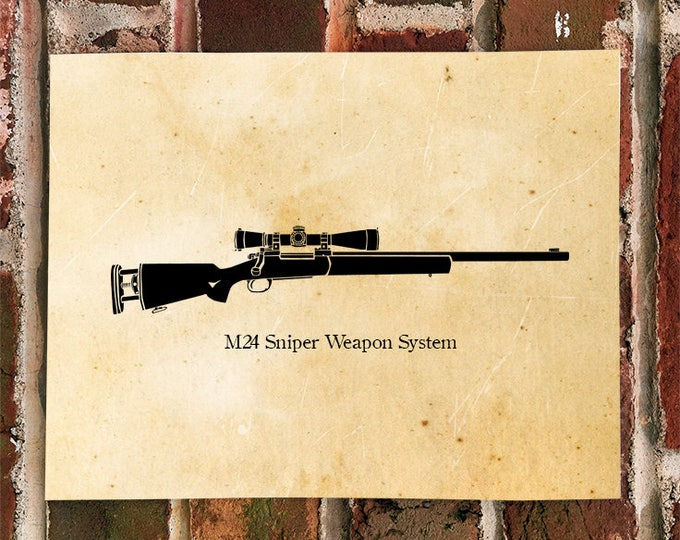 KillerBeeMoto: Limited Print M24 Sniper Weapon System
