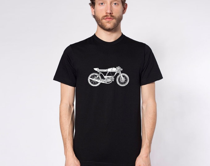KillerBeeMoto: Rogue Builds Moped Cafe Racer  Short And Long Sleeve Motorcycle Shirts