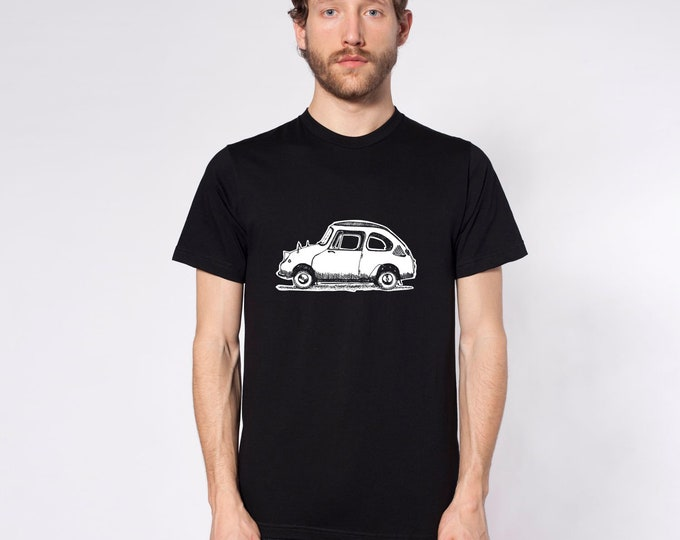 KillerBeeMoto: Limited Release Vintage Japanese Micro-Car On Short Or Longe Sleeve T-Shirt