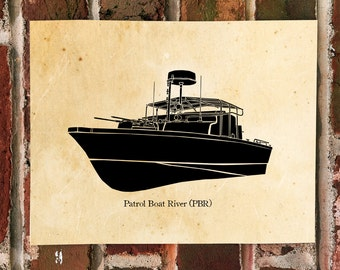 KillerBeeMoto: River Patrol Boat (PBR) Water Craft Print 1 of 50