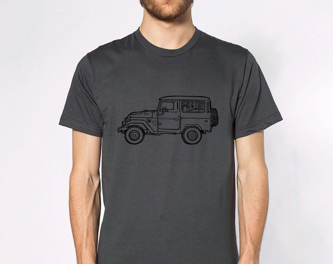 KillerBeeMoto: Limited Release Vintage Japanese Off Road Vehicle Side View Short & Long Sleeve Shirt Cartoon Version