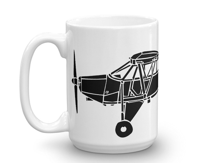 KillerBeeMoto: Limited Release Piper YL-14 Reconnaissance Aircraft Coffee Mug