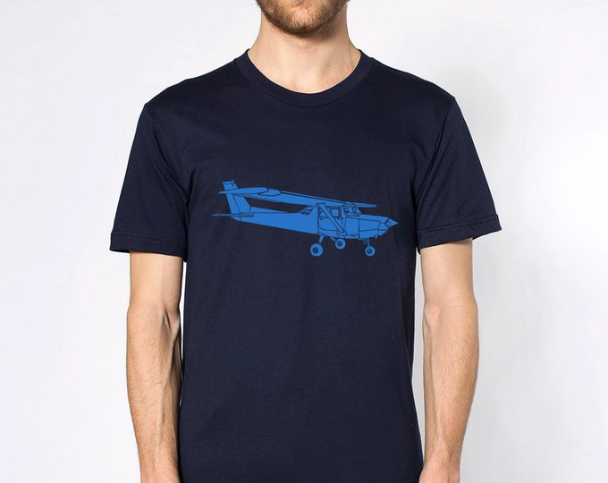 KillerBeeMoto: Limited Release Print of Vintage Recreational Aircraft Short Or Long Sleeve Shirt