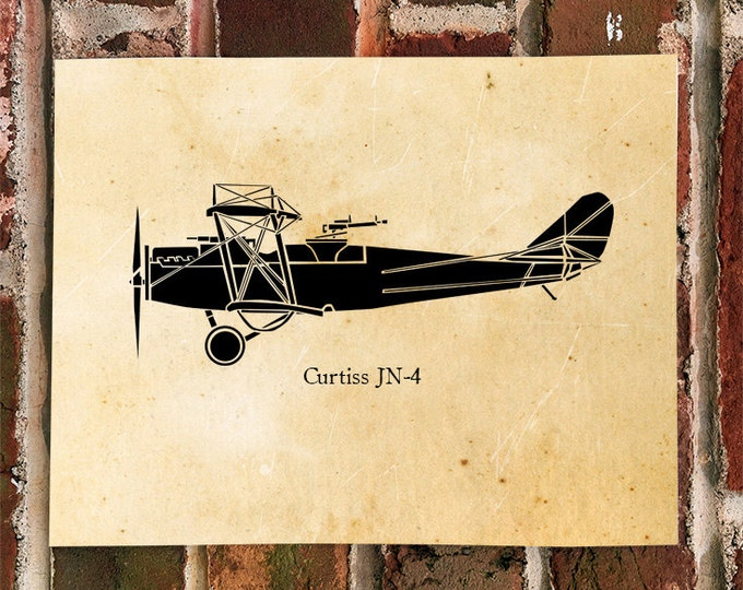 """KillerBeeMoto: Limited Print Curtiss JN-4 """"Jenny"""" Bi-Plane Aircraft 1 of 100"""