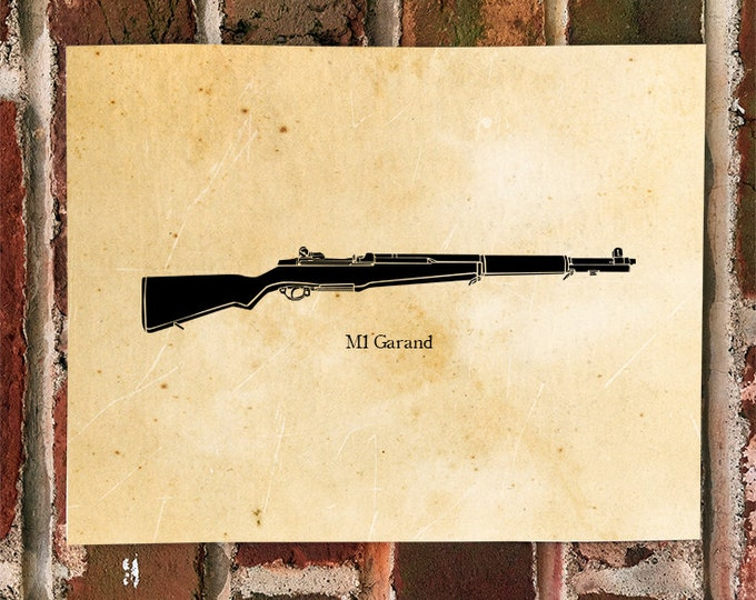 KillerBeeMoto: Limited Print M1 Garand World War Two Rifle