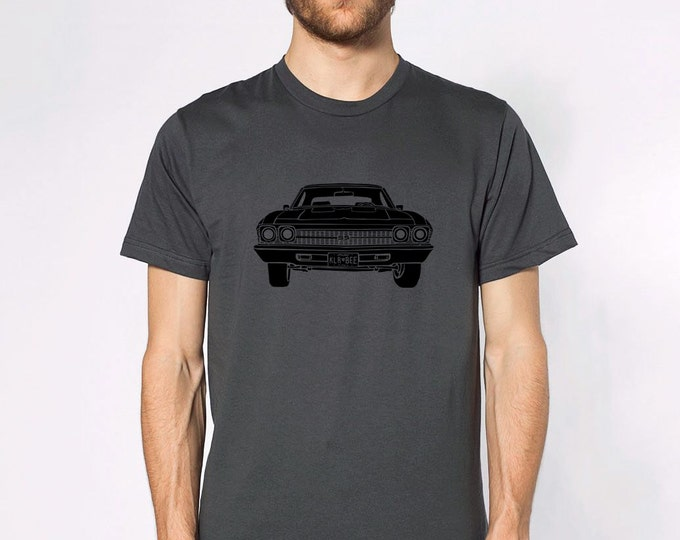 KillerBeeMoto: Limited Release American Engineered Muscle Car Hot Rod Front View Short & Long Sleeve Shirt