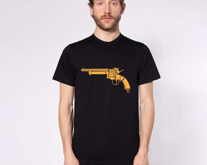 KillerBeeMoto: Limited Release Vintage American Civil War LeMat Revolver Pistol On Short or Long Sleeve T-Shirt