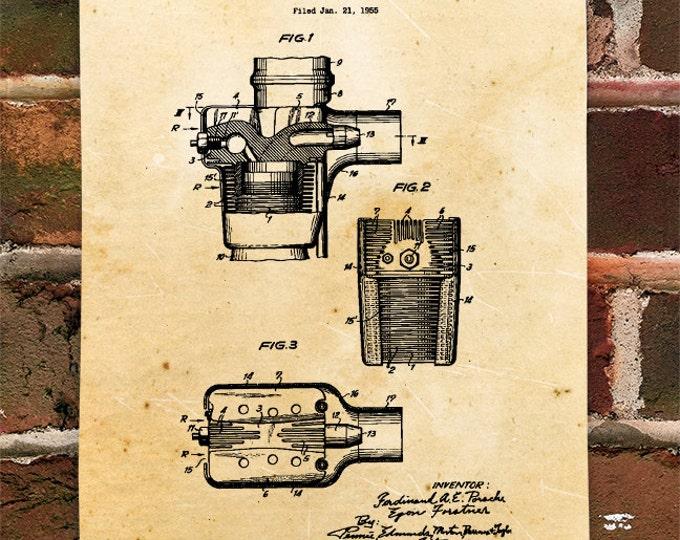 KillerBeeMoto: Duplicate of Original U.S. Patent For Porsche Aircooled Engine From 1955