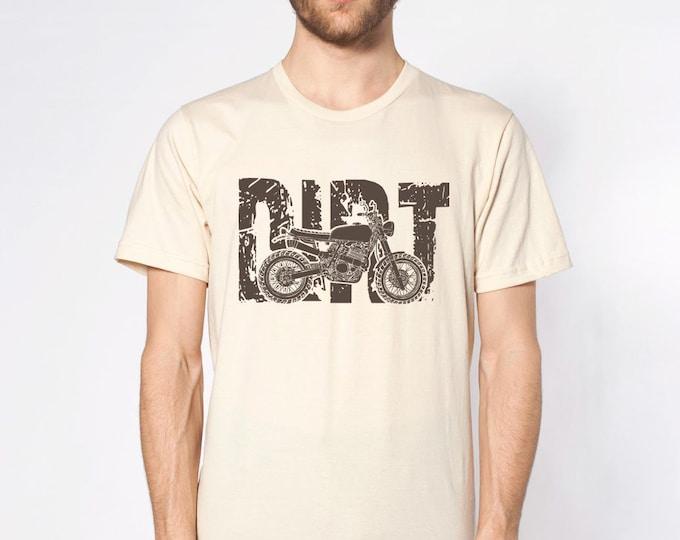 KillerBeeMoto: Vintage Style Dirt Bike Motorcycle T-Shirt