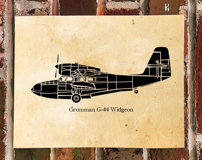 KillerBeeMoto: Limited Print Grumman G44 Widgeon Sea Plane Print