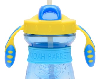 PACK of 3 Personalized Daycare Labels for Baby Bottles & Sippy Cups