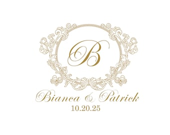 wedding logo 75 digital wedding monogram custom wedding monogram gobo lighting wedding invitations wedding initials