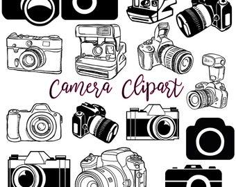 Camera Clipart Etsy