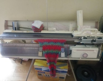 Knitting machine KH 260 with ribber atachment kr 260