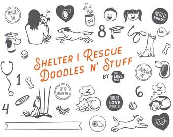 Shelter | Rescue Doodles n' Stuff