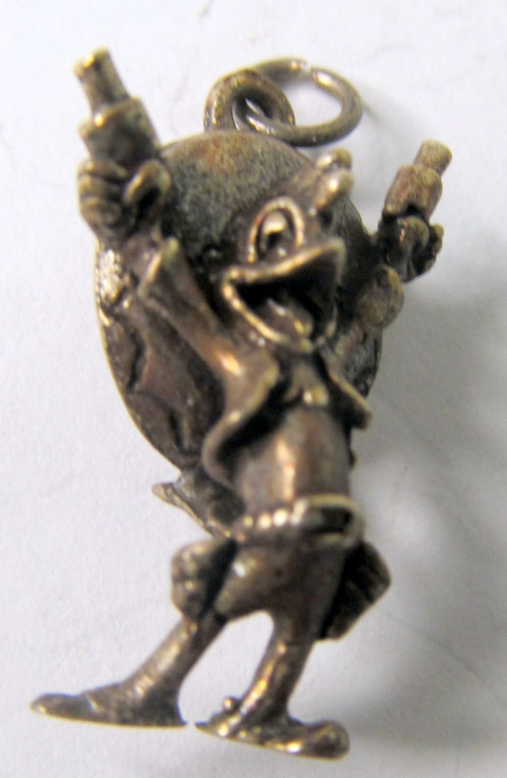 Disney PANCHITO Sterling Silver 1940's solid cast