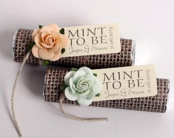 Additional 20 mint wedding favors