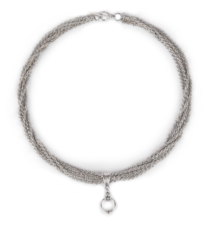 halskette collar necklace sm gothic ring der o kette. Black Bedroom Furniture Sets. Home Design Ideas