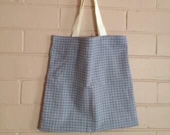 Birthday gift for boys, library book bag for boys, everyday bag for men, casual tote bag for boys, carry handbag, children's bag, school bag