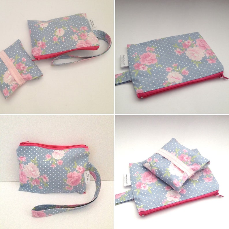 menstrual pads wallet privacy pouch bag feminine hygiene bag floral pencil case pouch makeup bag gift for teenage girl daughter
