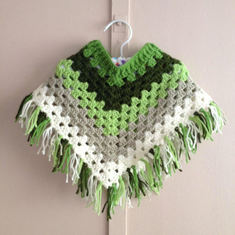 Baby Girl Clothes Kids Clothing Crochet Kids Poncho Mexican Etsy