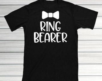 Ring Bearer Shirt, Ring Bearer Gift, Ring Security Shirt, Ring Bearer, Ring Bearer Proposal, Wedding Ring Security, Ring Bearer Name T shirt
