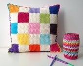 crocheted cushion/pillow ...