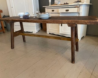antique slaughter table