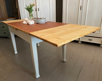antique pull-out table