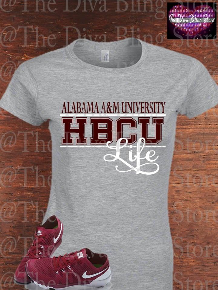 Alabama A Amp M Hbcu Life Svg File Etsy