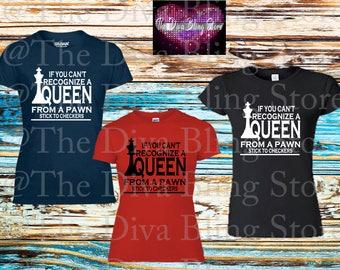 Recognize a Queen SVG File